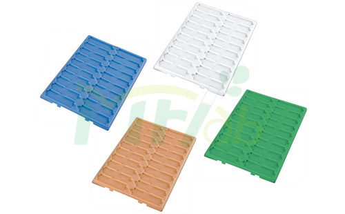 Slides Trays of Plastic
